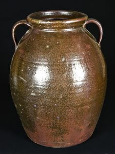 Long pottery of Crawford County GA - Jesse Bradford Long piece.