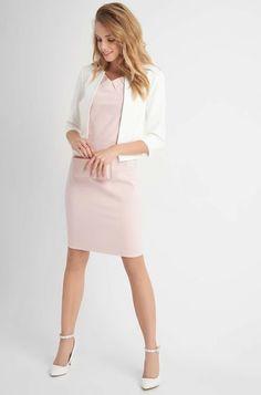 Bodycon Kleid mit Schmuckperlen - Orange Bodycon, Elegant, Dresses For Work, Clothes, Orange, Style, Fashion, Long Dress Formal, Dress Work