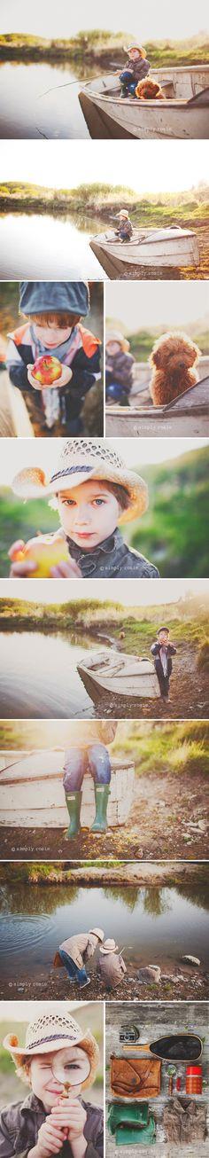 "Gone fishing | take photos using an interest as a ""theme"""