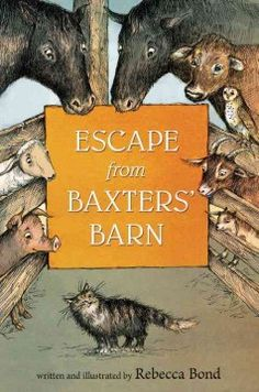When Burdock the barn cat sneaks into the Baxters' farmhouse kitchen to hide behind a warm stove, he overhears a sinister plot that endangers all the animals on the farm. It's up to him and his cacophonous cohorts to figure out how to bust out of the barn before it's too late. In this winning debut, readers will fall in love with the solitary cat, the self-effacing cow, the unstoppable pig, even a wayward she-owl—