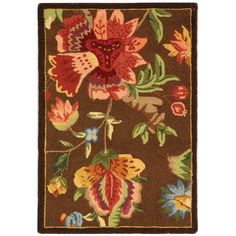 Chelsea Brown 1 ft. 8 in. x 2 ft. 6 in. Area Rug