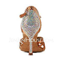 womens ballroom dancing shoes rhinestones - Google Search
