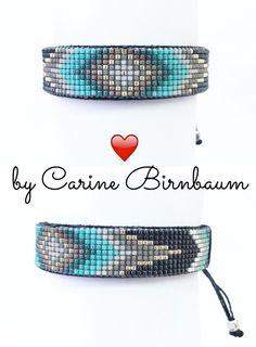 A personal favorite from my Etsy shop https://www.etsy.com/listing/223880545/loom-beaded-braceletbeaded