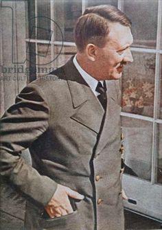 Adolf Hitler (1889-1945) 1944 (colour photo)
