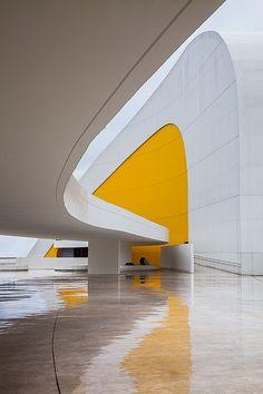 The Oscar Niemeyer International Cultural Centre - Design by Oscar Niemeyer - Avilés, Asturias, Spain - 2011