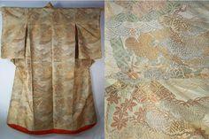 Antique Uchikake circa Meji period - late 1800's   Fabric type: Silk brocade