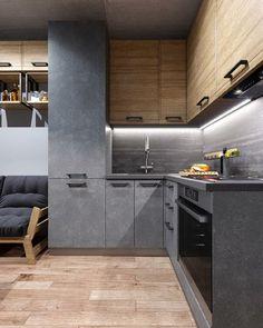 Kitchen Cabinet Design, Kitchen Interior, Kitchen Decor, Kitchen Cabinets, Kitchen Ideas, Luxury Kitchen Design, Bathroom Design Luxury, Interior Architecture, Interior Design