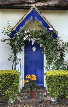 Exterior door detail.