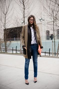 Jenna of JCrew.  Even though JCrew doesn't fit me quite right, I love and am inspired by the style I see in their catalogues.  #JCrew