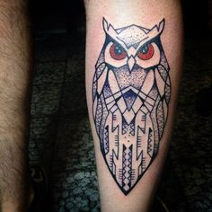 Some Of The Best Owl Tattoos of All Time