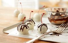 Chocolate Buttercream Cherry Candies