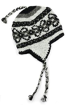 09f3aef3ee5 TCG Women's Hand Knit Wool Vintage Pattern Sherpa Hat Review