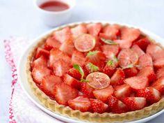 Tarte aux fraises, facile
