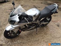 2007 HONDA CBR 600 F6 SILVER HIGH MILES BUT EXCELLENT ONE OWNER #honda #cbr #forsale #unitedkingdom