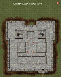 gneric version of Quarry Mine Fort, Upper Level