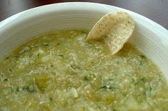 Thrifty Living: Homemade Salsa Verde