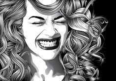 Adobe Illustrator tutorial by Madis Põldsaar: creating stylized hair
