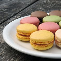 These easy to make macarons will change the way you think about how to make macarons. They are the easiest macaron recipe I've ever made. Macaroon Recipes, Cupcake Recipes, Snack Recipes, Dessert Recipes, Aquafaba, Lavender Cupcakes, How To Make Macarons, Unique Desserts, Pastries
