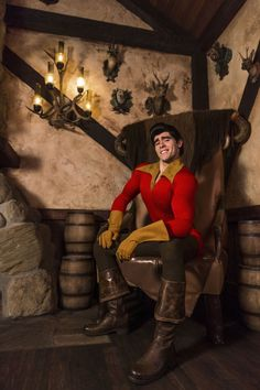 Villain's Gallery: Gaston from 'Beauty and the Beast'