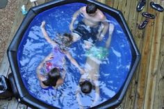 build your own hot tub! DIY