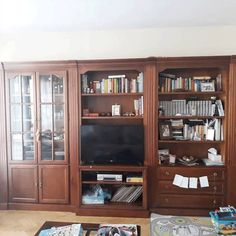 Antes y después: los cambios con chalk paint más espectaculares Diy Furniture Trim, Paint Furniture, Classy Living Room, Interior Decorating, Interior Design, Ikea, Vintage Decor, Chalk Paint, Sweet Home