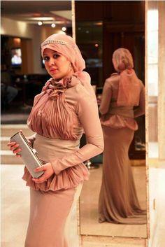 pink hijab dress 2