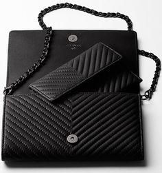 Chanel Boy Chevron Wallet On Chain