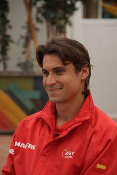 David Ferrer #sonrisa