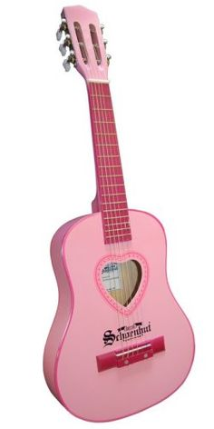 Schoenhut Acoustic Guitar (Pink) $42.38 (save $12.61) + Free Shipping