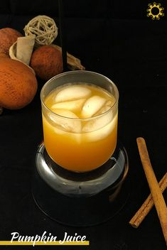Pumpkin juice seems to be the favored drink among wizards, and after making our own at home with only 5 ingredients, I understand why! Dairy Free Recipes, Vegan Gluten Free, New Recipes, Vegan Recipes, Favorite Recipes, Meatless Recipes, Pumpkin Juice, Holiday Drinks, Vegan Butter