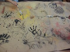 ARTASTIC! Miss Oetken's Artists: Prehistoric Cave Art and Cave Paintbrushes!