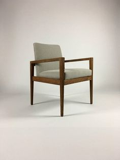 Jens Risom Accent Chair with Arms Occasional Chair Mid