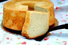 No-Frills Recipes ... cooking, baking & excerpts on travel: Japanese Peach Tea Chiffon Cake ~ 日式桃抹茶戚风蛋糕