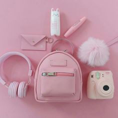 Various Features of Cute School Bags – Bags & Purses Pink Love, Cute Pink, Pretty In Pink, Organizer Box, Mode Kawaii, Pink Color, Purple, Accessoires Iphone, Aesthetic Colors
