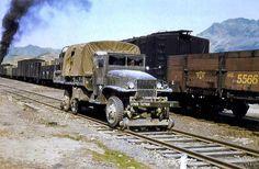 GMC CCKW on rails