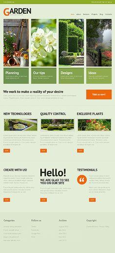 15 best Landscape Design Website Design images on Pinterest   Design ...