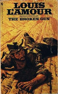 Louis L'Amour  The Broken Gun  In the 1950's a man finds part of a journal stuffed inside an old broken gun.  When he tries to find out what happened to the writer 90 years before, he faces mortal danger himself.
