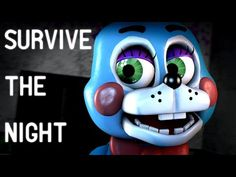 [SFM FNAF] Survive the Night - FNaF 2 Song by MandoPony [5K SUBSCRIBERS!] - YouTube
