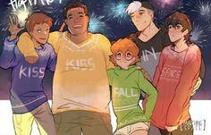 AAAAAAAAAA!!! Lance is Tamaki, Pidge is Haruhi, Hunk is Honey, and Shiro is Takashi. Keith is Hikaru or Kaoru.