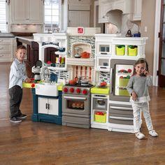 Play Kitchen Set Pretend Food Cooking Toy Child Girl Boy Kids Gift Idea Present  #Step2