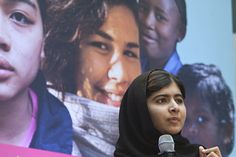 Leaders to an Equal World - Malala Yousafzai #Malala #Equality