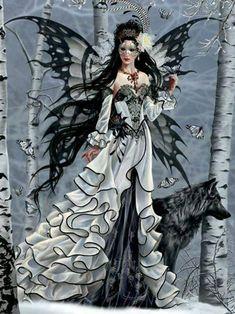 Dark Fairy Art