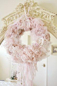 romantic wreath...