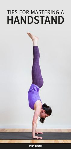 8 moves to help you learn how to do a handstand