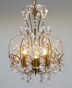 A7-CL/320/3  Wrought Iron Chandelier Chandeliers, Crystal Chandelier, Crystal Chandeliers, Lighting