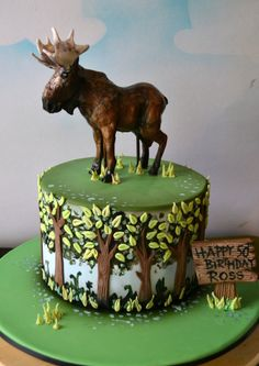 Moose Cake Party Ideas Pinterest Moose Cake Moose