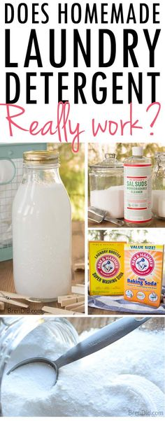 Homemade laundry detergents are popular but do they work effectively, ruin your washing machine, or are they a big waste of time? I share my 3 years of experience with you!