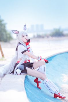 Anime Cosplay Girls, Kawaii Cosplay, Cute Cosplay, Best Cosplay Ever, Mean Cat, Asian Cosplay, Anime Conventions, Cool Costumes, Game Character
