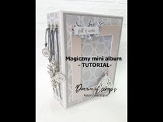 Magiczny mini album FULL OF MAGIC - tutorial - scrapbooking Magic Tutorial, Mini Album Tutorial, Big Cats Art, Cat Art, Owl, Scrapbook, Owls, Scrapbooks, Scrapbooking