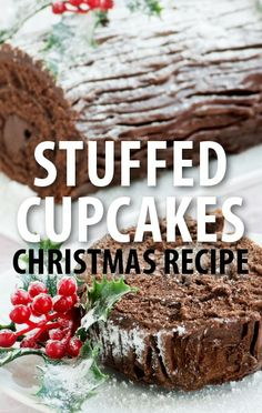 Turn a holiday classic dessert into this recipe for Carla Hall's Mascarpone-Stuffed Buche de Noel Cupcakes, from The Chew's Winter Funderland episode. http://www.recapo.com/the-chew/the-chew-recipes/the-chew-carla-hall-mascarpone-stuffed-buche-de-noel-cupcakes-recipe/